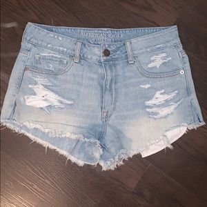AE High-Rise Shortie Shorts